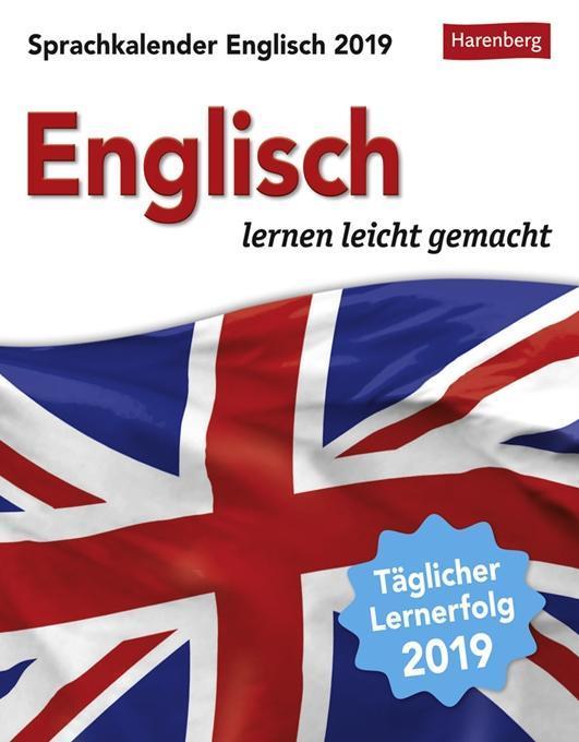 Sprachkalender Englisch 2019 als Kalender