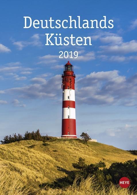 Deutschlands Küsten - Kalender 2019