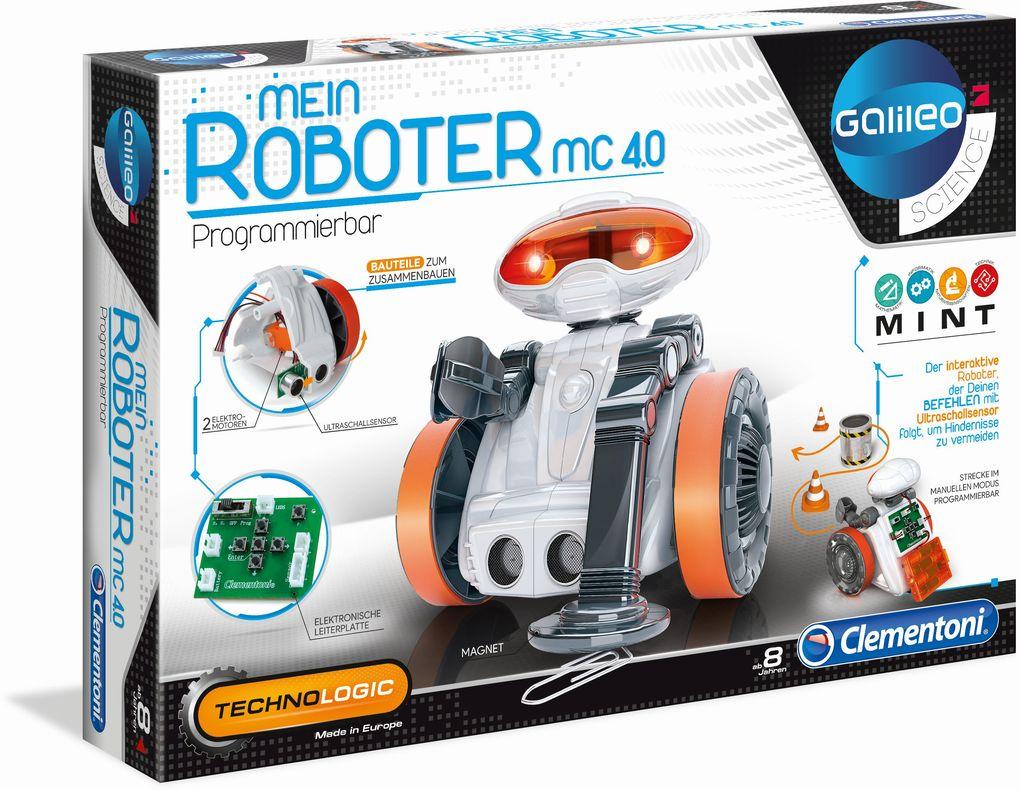 Clementoni - Galileo - Mein Roboter MC 4.0 als sonstige Artikel