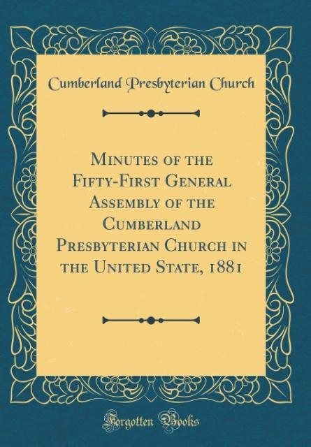 Minutes of the Fifty-First General Assembly of ...