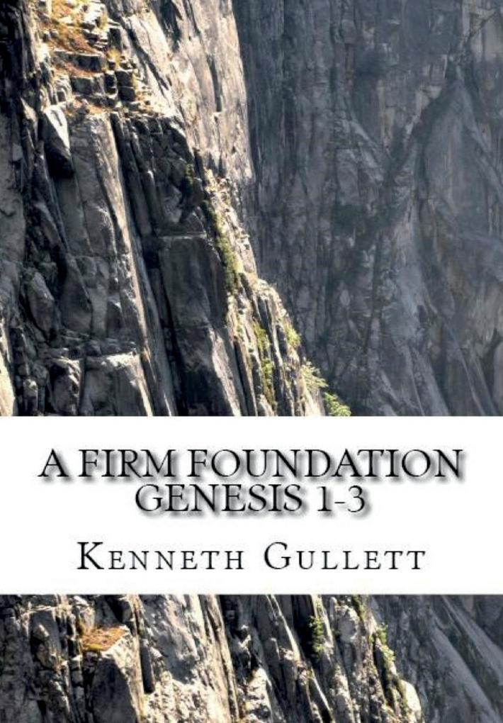 A Firm Foundation als Buch von Kenneth Gullett