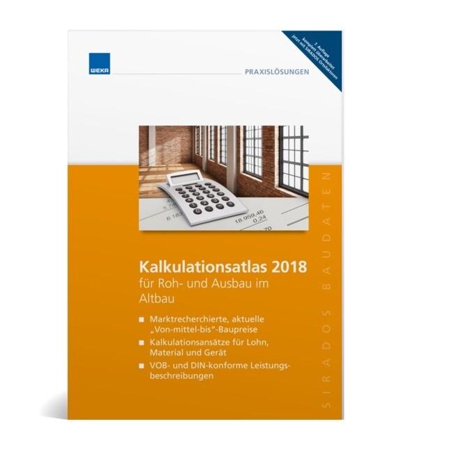 SIRADOS Kalkulationsatlas 2018 für Roh- und Aus...