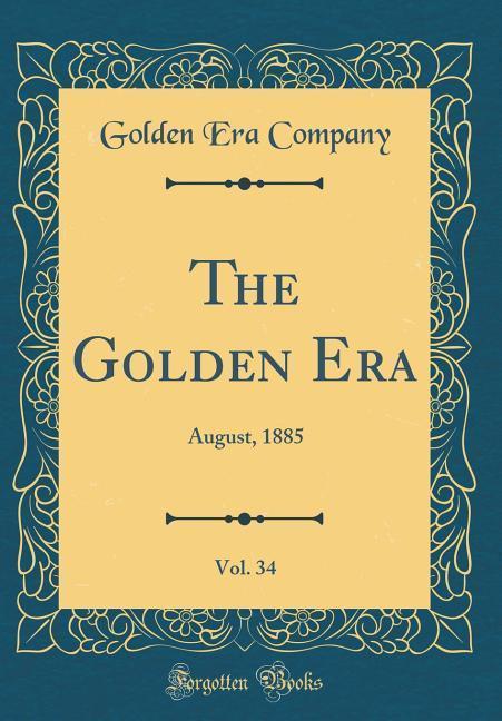The Golden Era, Vol. 34 als Buch von Golden Era...