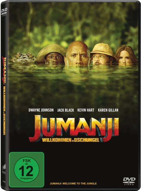 Jumanji - Willkommen im Dschungel als DVD