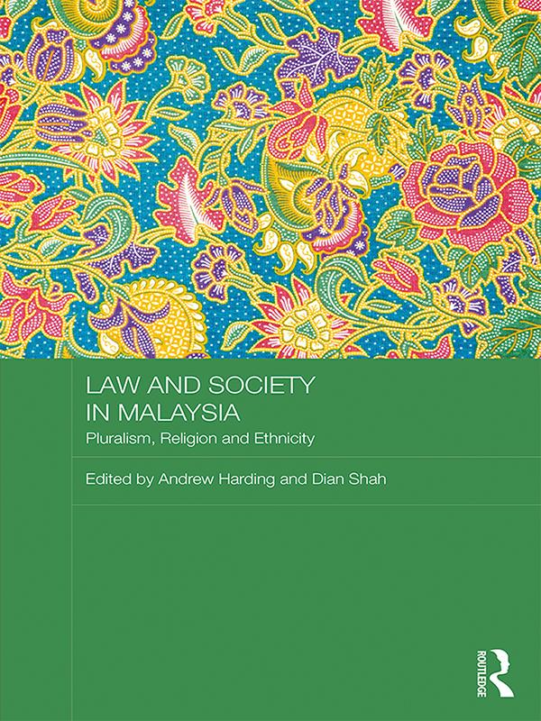 Law and Society in Malaysia als eBook Download von