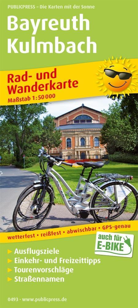 Bayreuth - Kulmbach 1:50 000 als Buch von