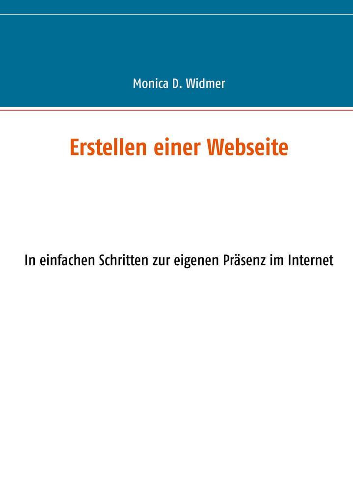 Erstellen einer Webseite als Buch von Monica D....