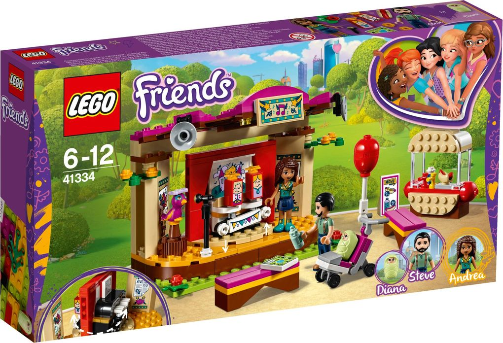 LEGO® Friends 41334 - Andreas Bühne im Park