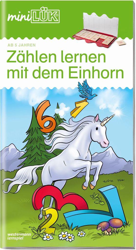 miniLÜK. Zählen lernen mit dem Einhorn als Buch...