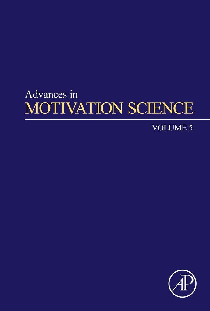 Advances in Motivation Science, Volume 5 als eB...