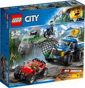LEGO® City 60172 - Bergpolizei Verfolgungsjagd auf Schotterpisten