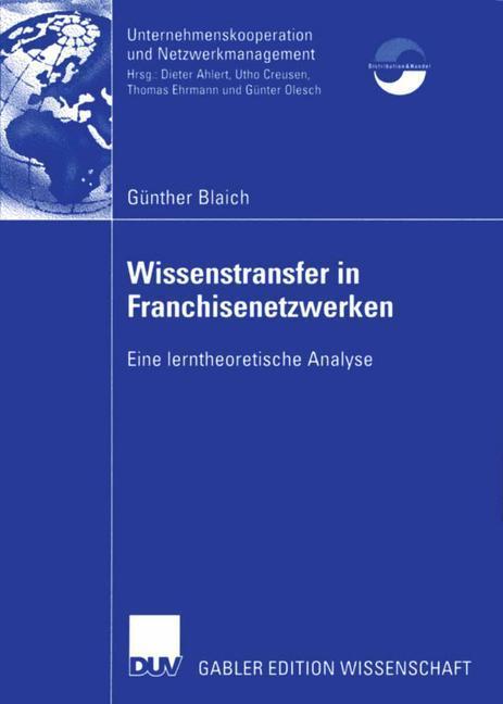 Wissenstransfer in Franchisenetzwerken als Buch...