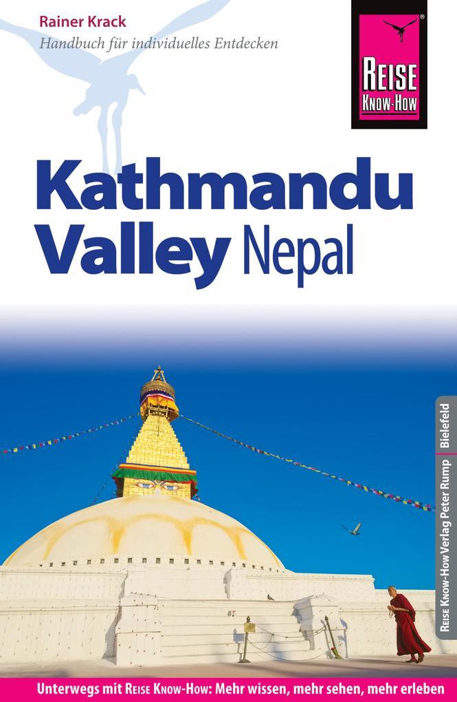 Reise Know-How Reiseführer Nepal: Kathmandu Valley als eBook