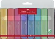 Faber-Castell Textmarker TEXTLINER 1546 8er Etui paste