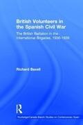 British Volunteers in the Spanish Civil War