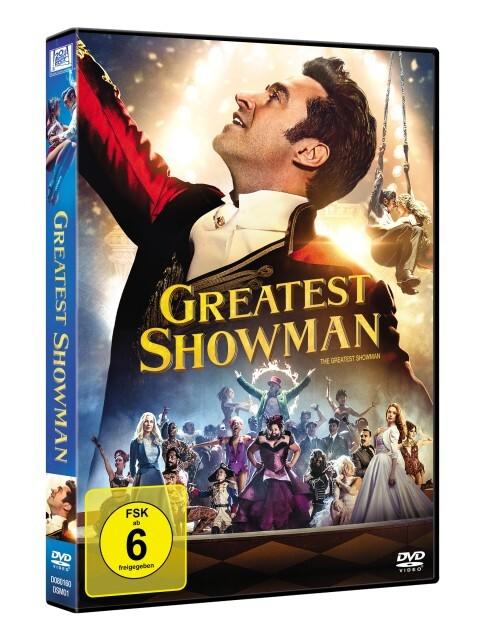 The Greatest Showman als DVD