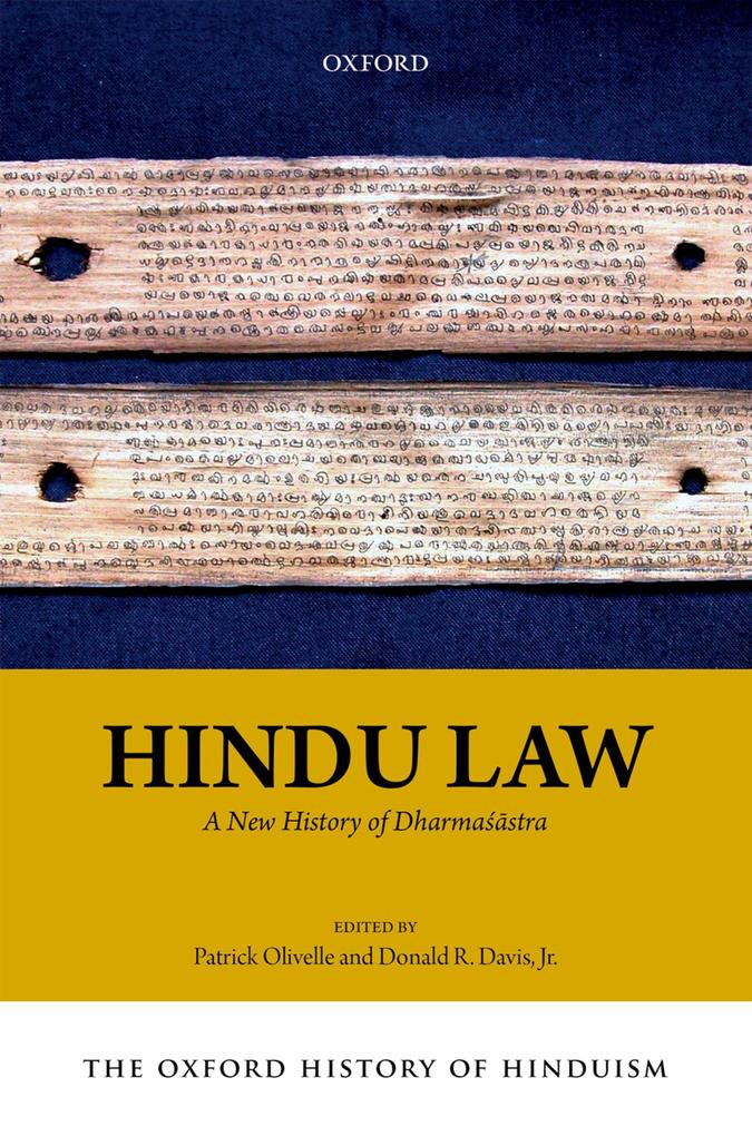 The Oxford History of Hinduism: Hindu Law als e...