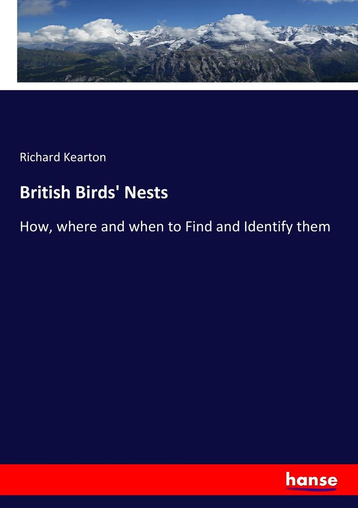 British Birds´ Nests als Buch von Richard Kearton