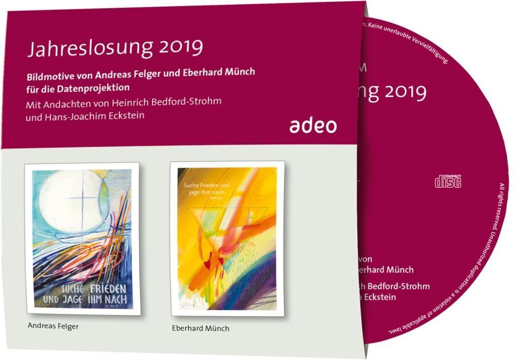 CD-ROM mit Bildbetrachtung - Jahreslosung 2019