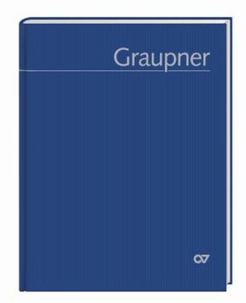 Christoph Graupner. Thematisches Verzeichnis de...