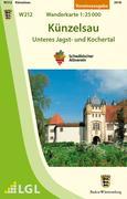 Künzelsau - Unteres Jagst- und Kochertal 1 : 25 000