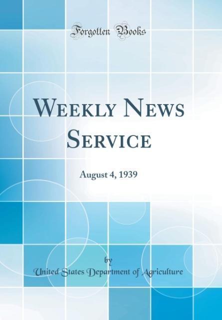 Weekly News Service als Buch von United States ...