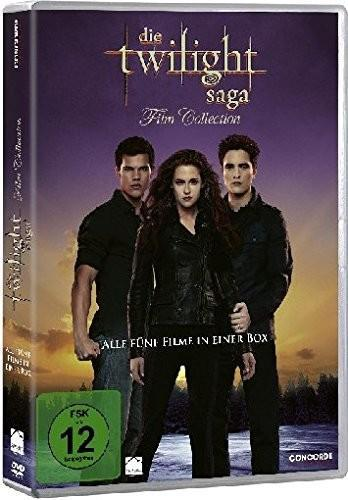Die Twilight Saga 1-5 - Film Collection als DVD