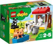 LEGO® DUPLO® 10870 - Tiere auf dem Bauernhof, Lernspielzeug