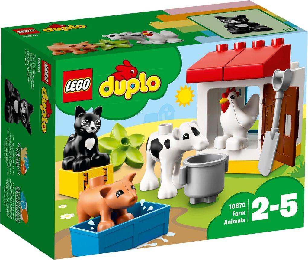 LEGO® DUPLO® 10870 - Tiere auf dem Bauernhof, Lernspielzeug als Spielwaren