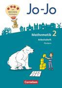 Jo-Jo Mathematik 2. Schuljahr - Allgemeine Ausgabe 2018 - Arbeitsheft Fördern