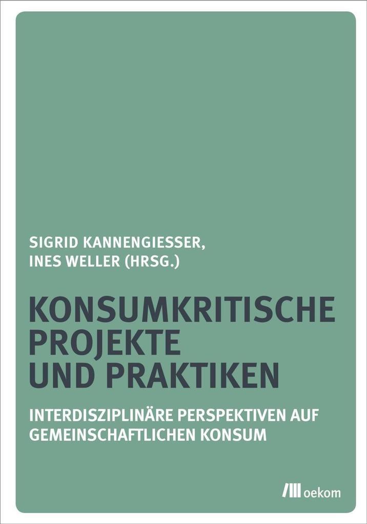 Konsumkritische Projekte und Praktiken als eBoo...