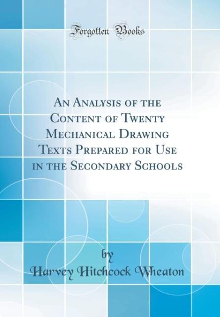 An Analysis of the Content of Twenty Mechanical...
