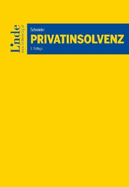 Privatinsolvenz (f. Österreich) als Buch von Bi...
