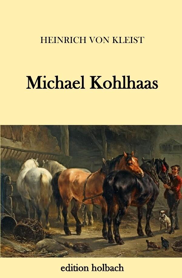 Michael Kohlhaas als Buch