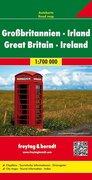 Großbritannien - Irland. Autokarte 1 : 700.000