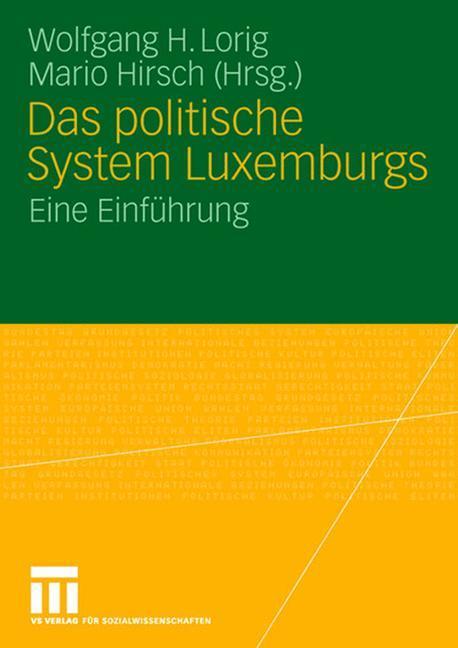 Das politische System Luxemburgs als Buch von