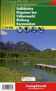Südkärnten - Klopeiner See - Völkermarkt - Bleiburg - Karawanken 1 : 50 000