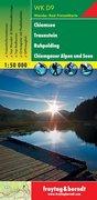 Freytag & Berndt Wander-, Rad- und Freizeitkarte Chiemsee, Traunstein, Ruhpolding, Chiemgauer Alpen