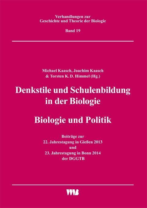 Denkstile und Schulenbildung in der Biologie/Bi...