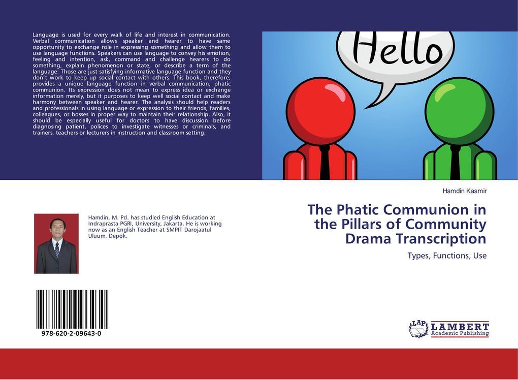 The Phatic Communion in the Pillars of Communit...