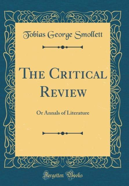 The Critical Review als Buch von Tobias George ...