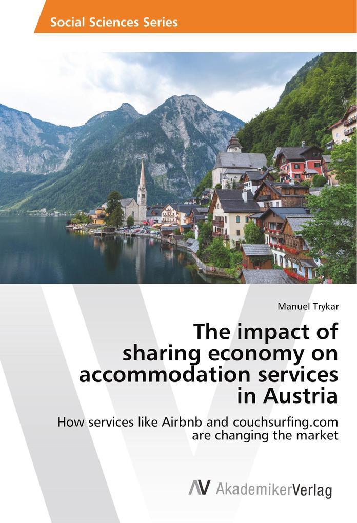 The impact of sharing economy on accommodation ...