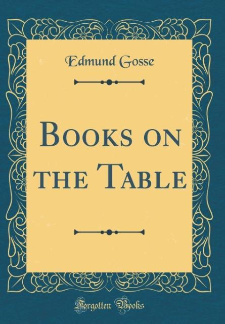 Books on the Table (Classic Reprint) als Buch v...