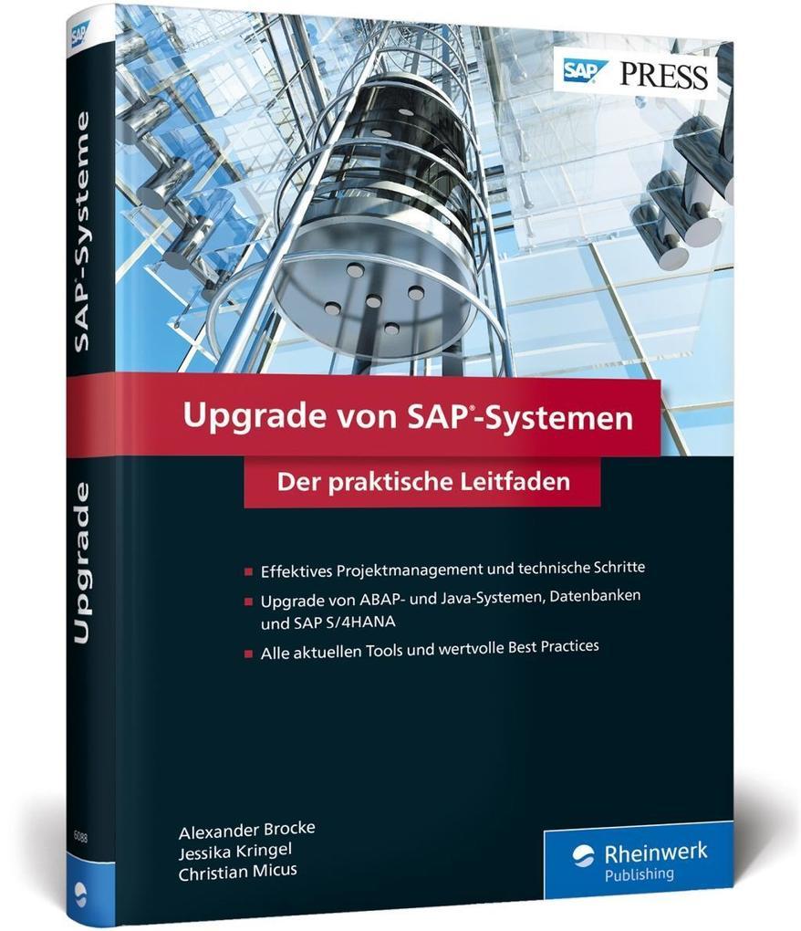 Upgrade von SAP-Systemen als Buch von Alexander...