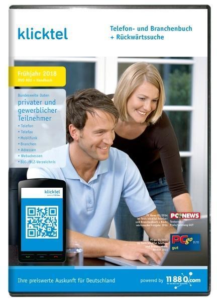 klickTel Telefon- und Branchenbuch inkl. Rückwä...