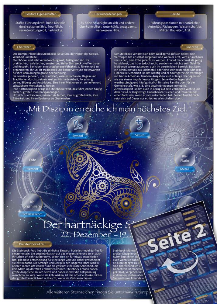Sternzeichen Steinbock - Die Horoskop- und Char...