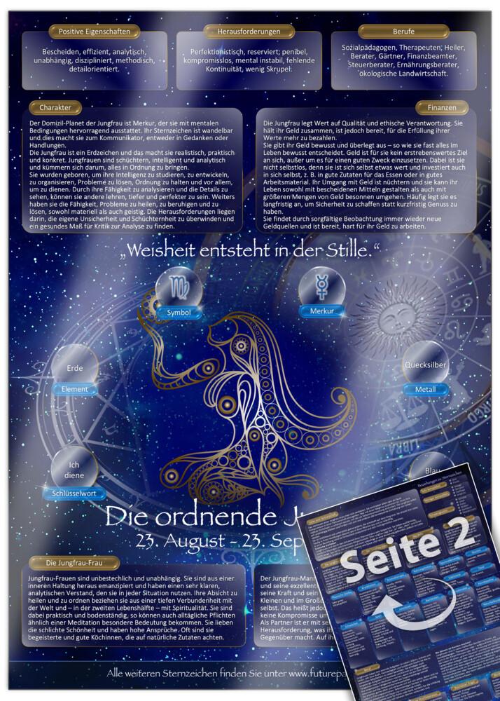 Sternzeichen Jungfrau - Die Horoskop- und Chara...