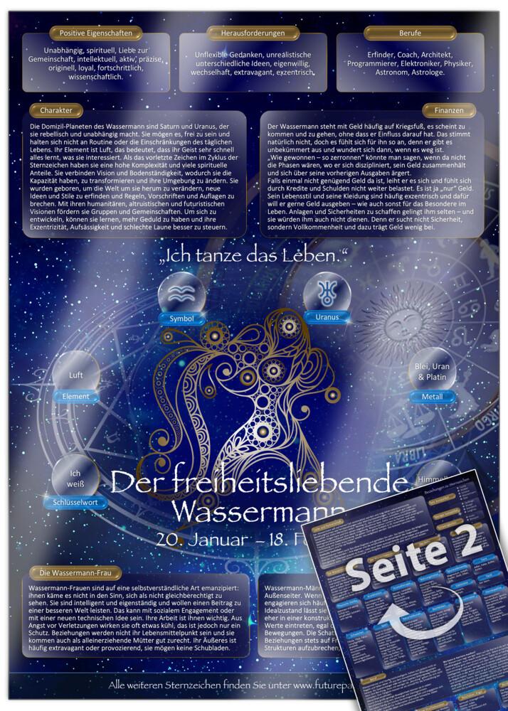 Sternzeichen Wassermann - Die Horoskop- und Cha...