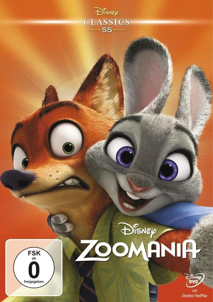 Zoomania als DVD