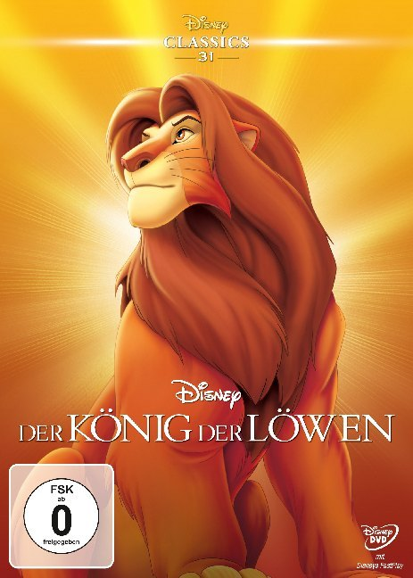 Der König der Löwen als DVD